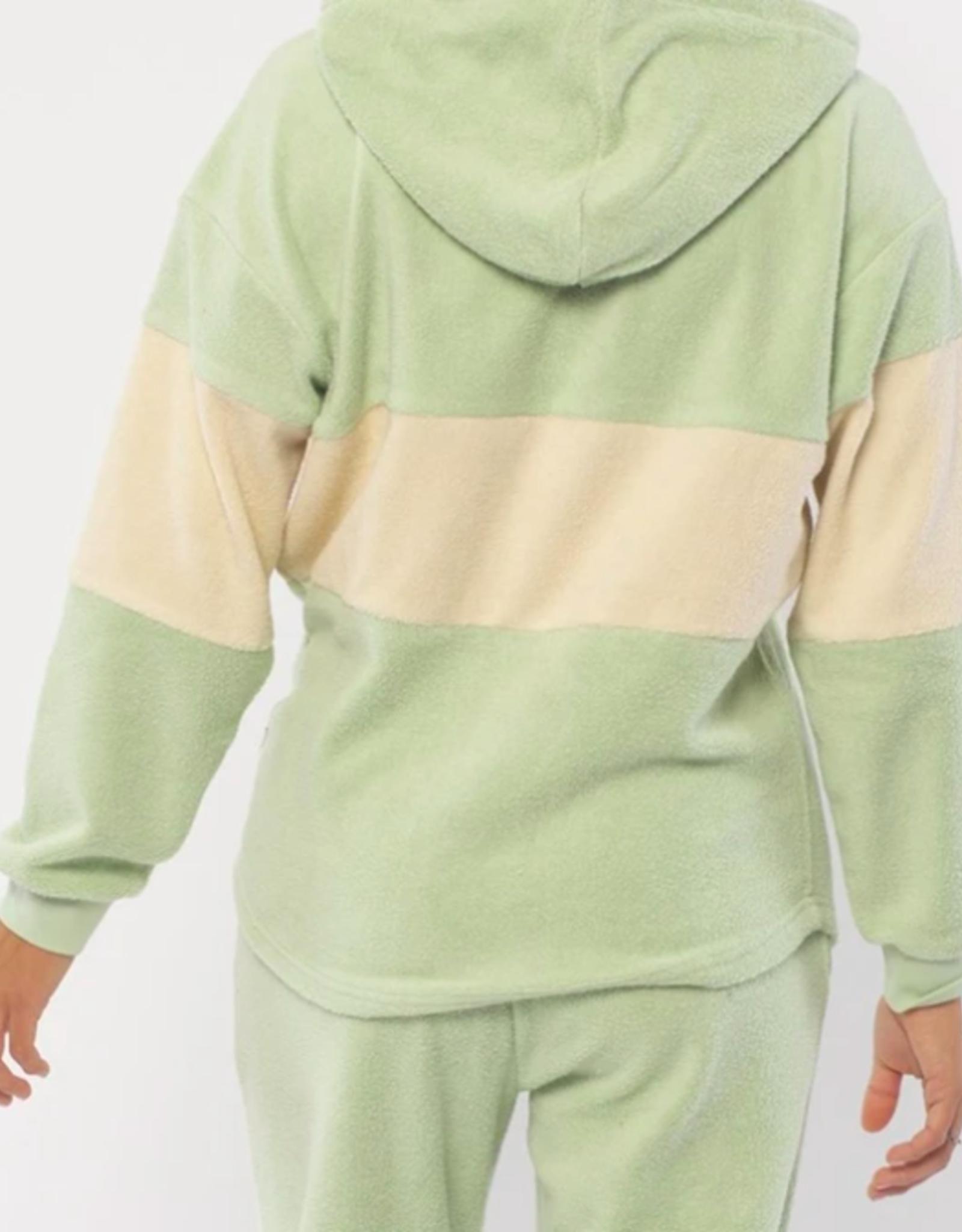Sisstr Roller Stripe Long Sleeve Fleece