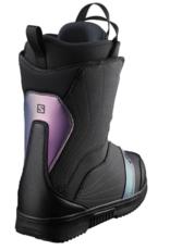 Salomon Women's Pearl Boa Snowboard Boots Black/Royal Lilac 2022