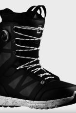 Salomon Men's Launch Lace SJ Boa Snowboard Boots Black/White 2022