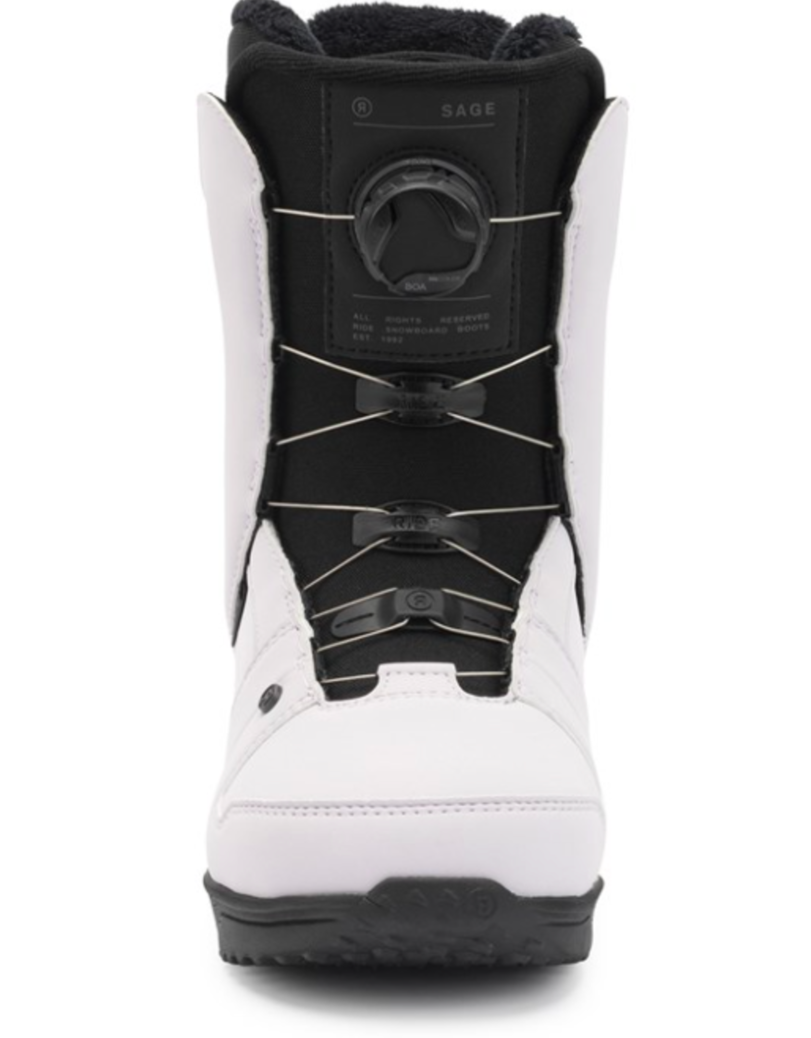 RIDE Ride Women's Sage Snowboard Boots Lilac 2022