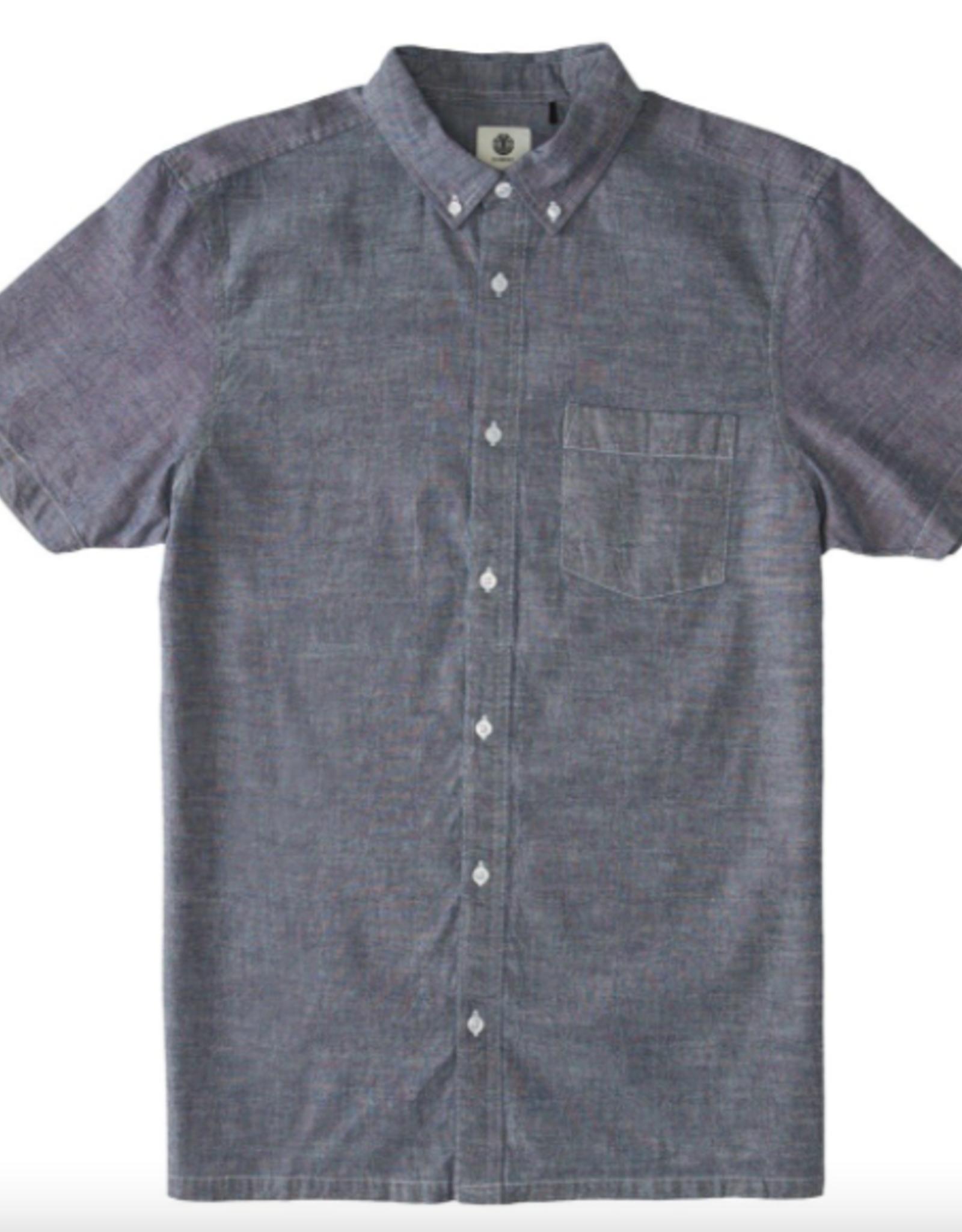 Element Men's Vega Button Down Short Sleeve Shirt