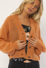 Amuse Women's Grey L/S Knit Cardigan