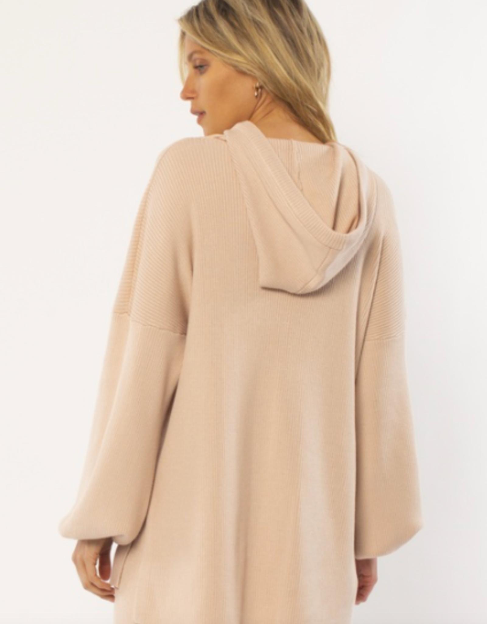 Amuse Women's Maxwell Long Sleeve Knit Sweater
