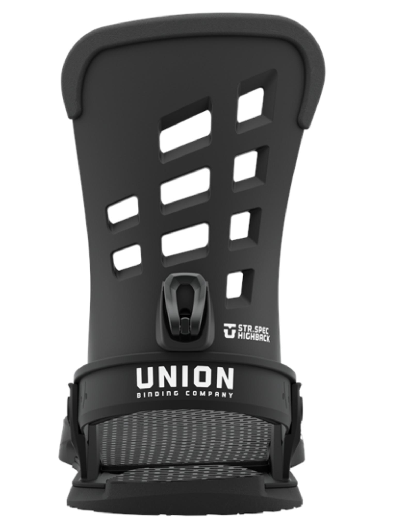 UNION Union Men's STR Bindings Black 2022