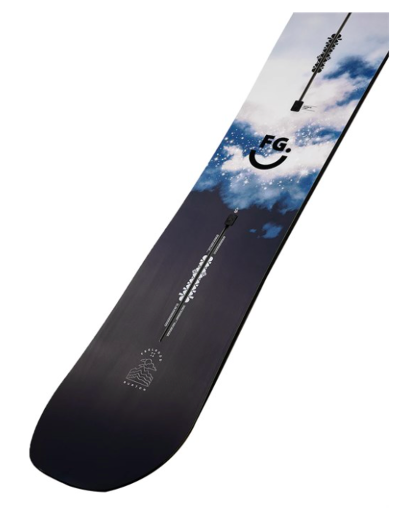 BURTON Burton Women's Feelgood Flying V Snowboard 2022