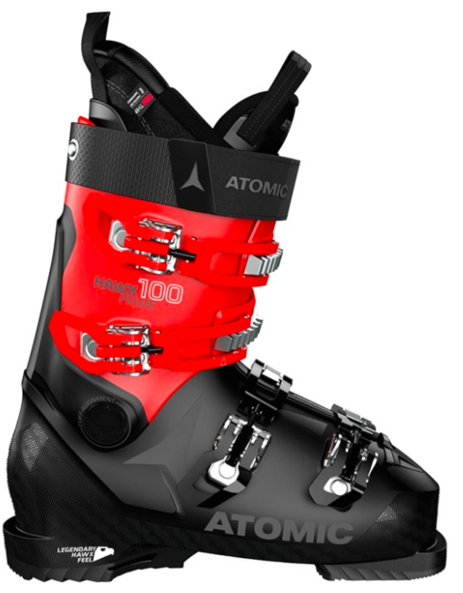 Atomic Men's Hawx Prime 100 Ski Boots Black/Red 2022