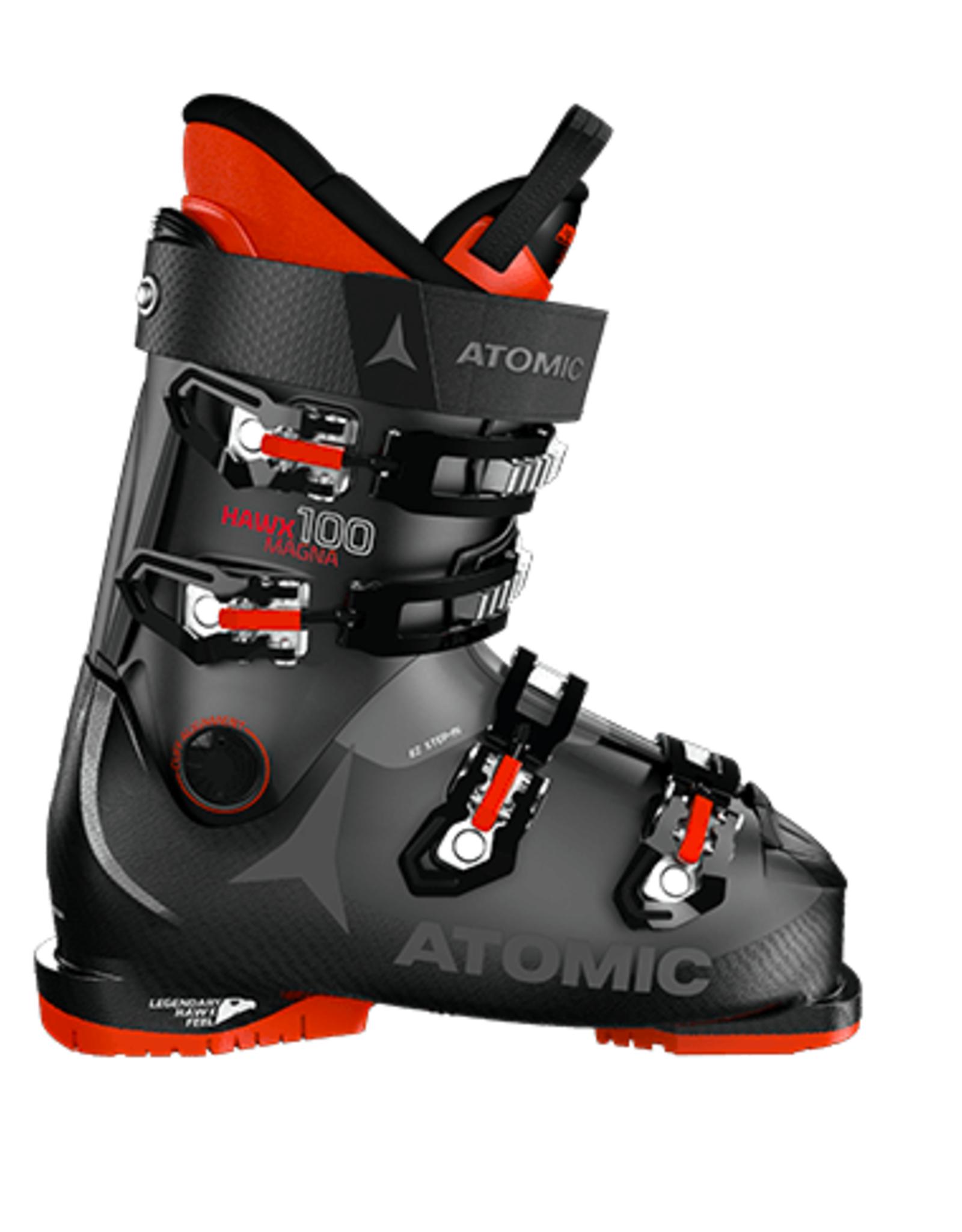 Atomic Men's Hawx Magna 100 Ski Boots Black/Anthracite/Red 2022