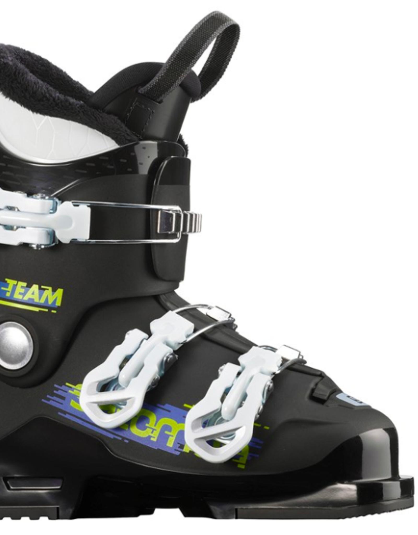 Salomon Youth Alp Team T3 Ski Boots Black/White 2022