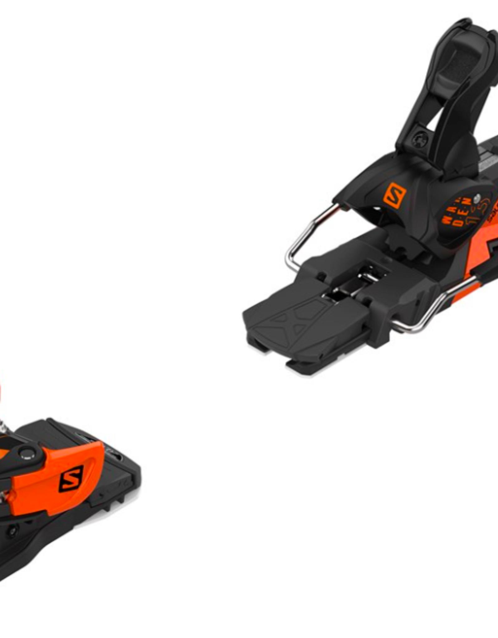 Salomon Warden MNC 13 Ski Bindings Black/Orange 2022