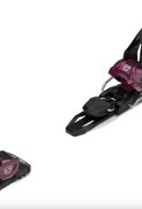 Salomon Warden MNC 11 Ski Bindings Burgundy 2022