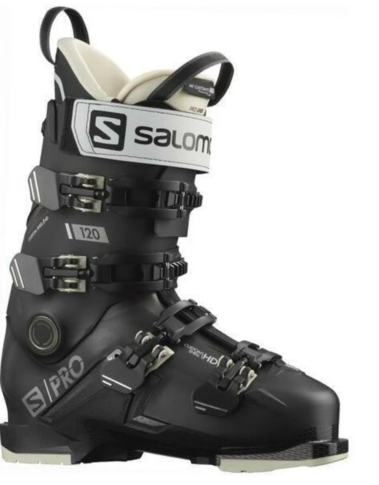 Salomon Men's Alp S/Pro 120 GW Ski Boots Black/Rainy Day 2022