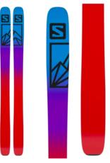 Salomon Men's QST Blank Skis White/Light Grey 2022