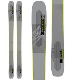 Salomon Men's QST 92 Skis Grey/Yellow 2022