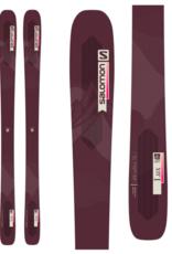 Salomon Women's QST Lux 92 Skis Bordeau/Pink 2022