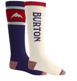 BURTON Burton Men's Weekend Midweight Socks 2 Pack Mood Indigo 2022