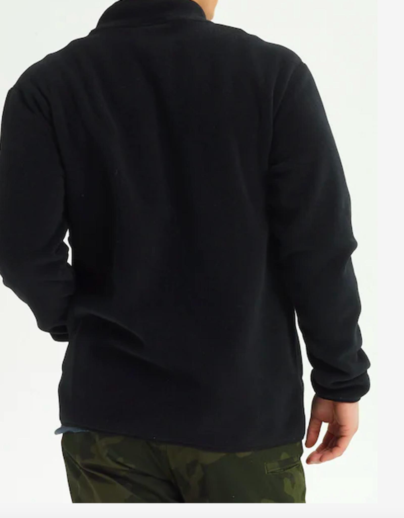 BURTON Burton Men's Hearth Fleece Full Zip True Black