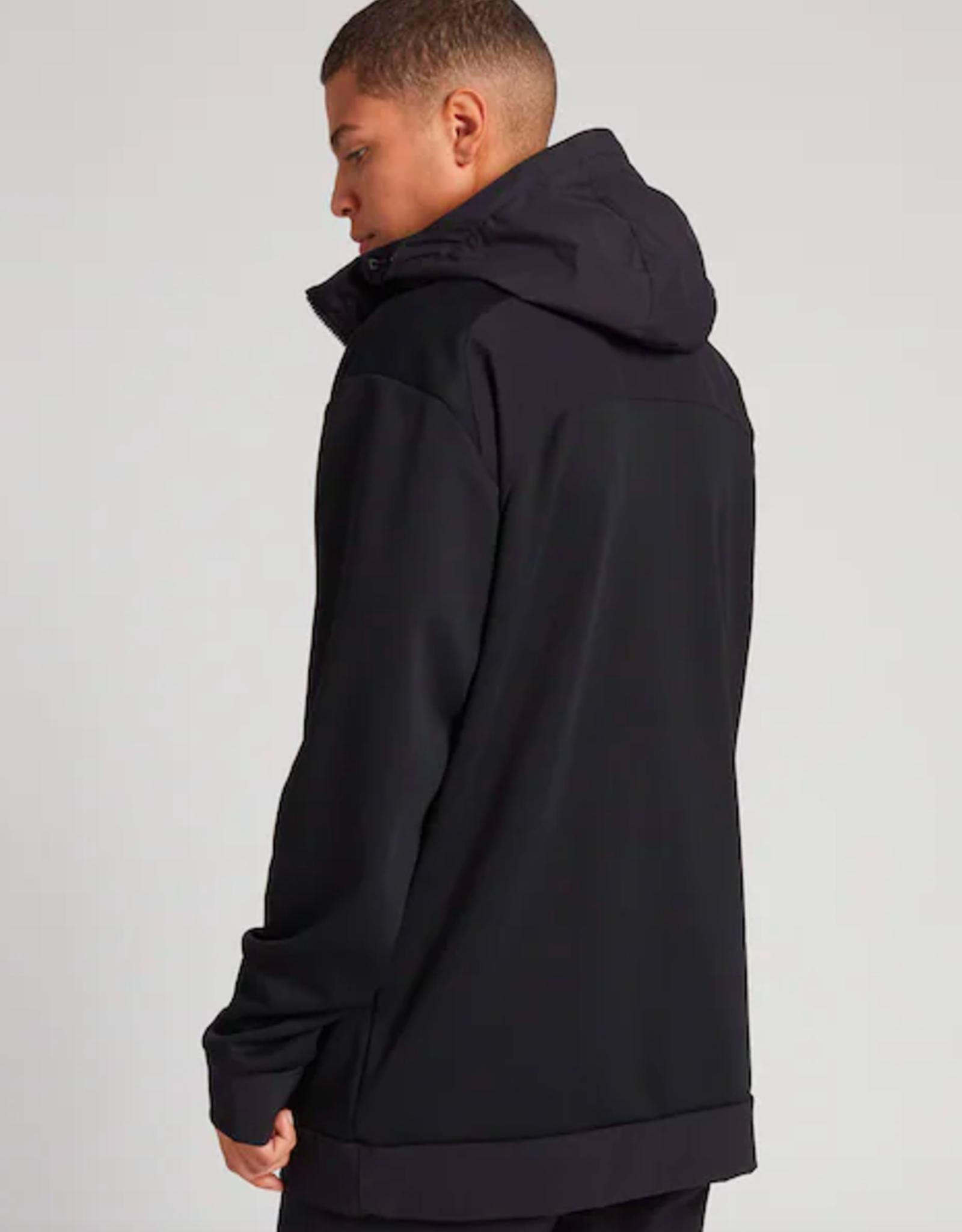 BURTON Burton Men's Crown Weatherproof Performance Pullover Fleece True Black