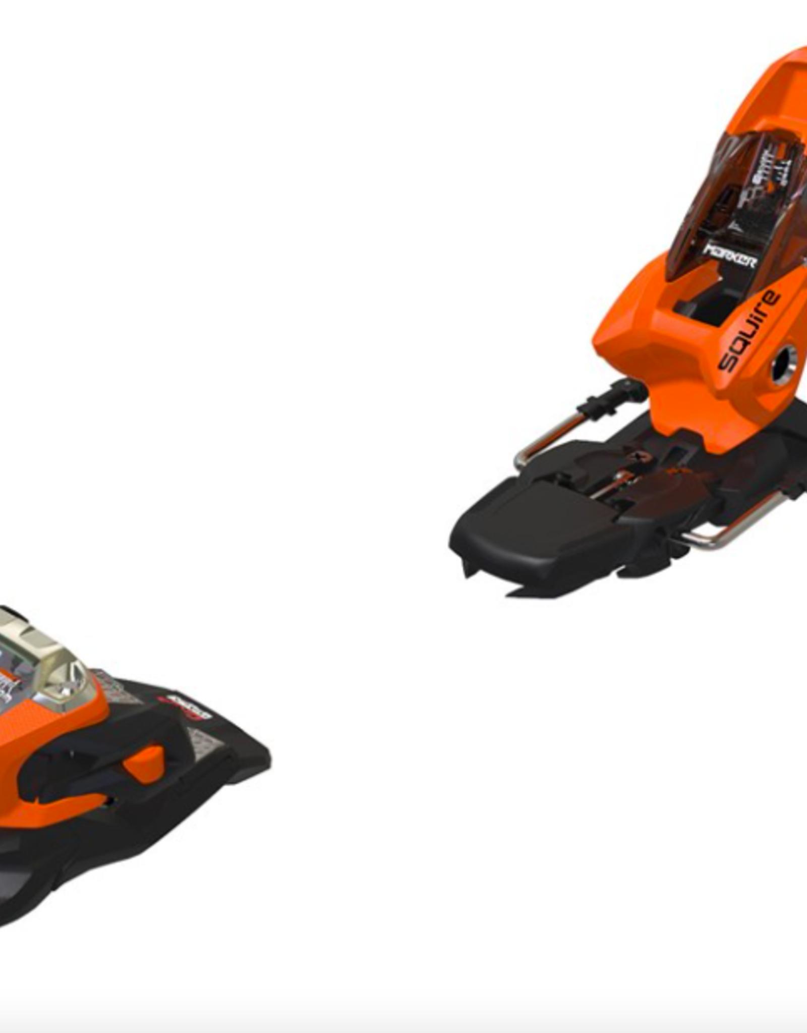 Marker Squire 11 Ski Bindings Orange/Black 2022
