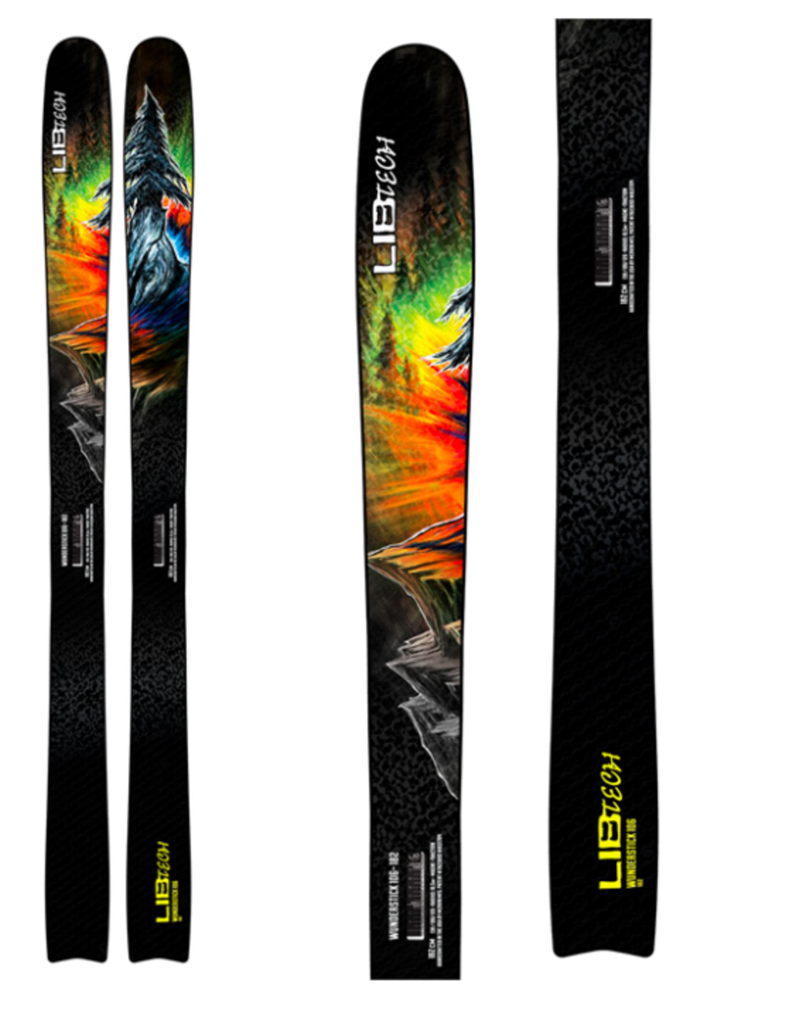 LIB TECH Lib Tech Men's Wunderstick 106 Skis 2022