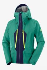 Salomon Men's Outpeak Gore-Tex 3L Jacket Pacific/Night Sky 2022