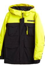 BURTON Burton Boy's Covert Jacket True Black/Sulphur Yellow 2022