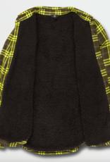 Volcom Men's Sherpa Flannel Jacket BGR