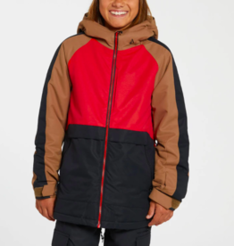 Volcom Kid's Holbeck Insulated Jacket RED 2022