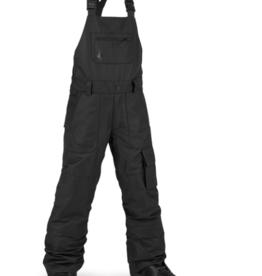 Volcom Kid's Barkley Bib Overall Pants Black 2022
