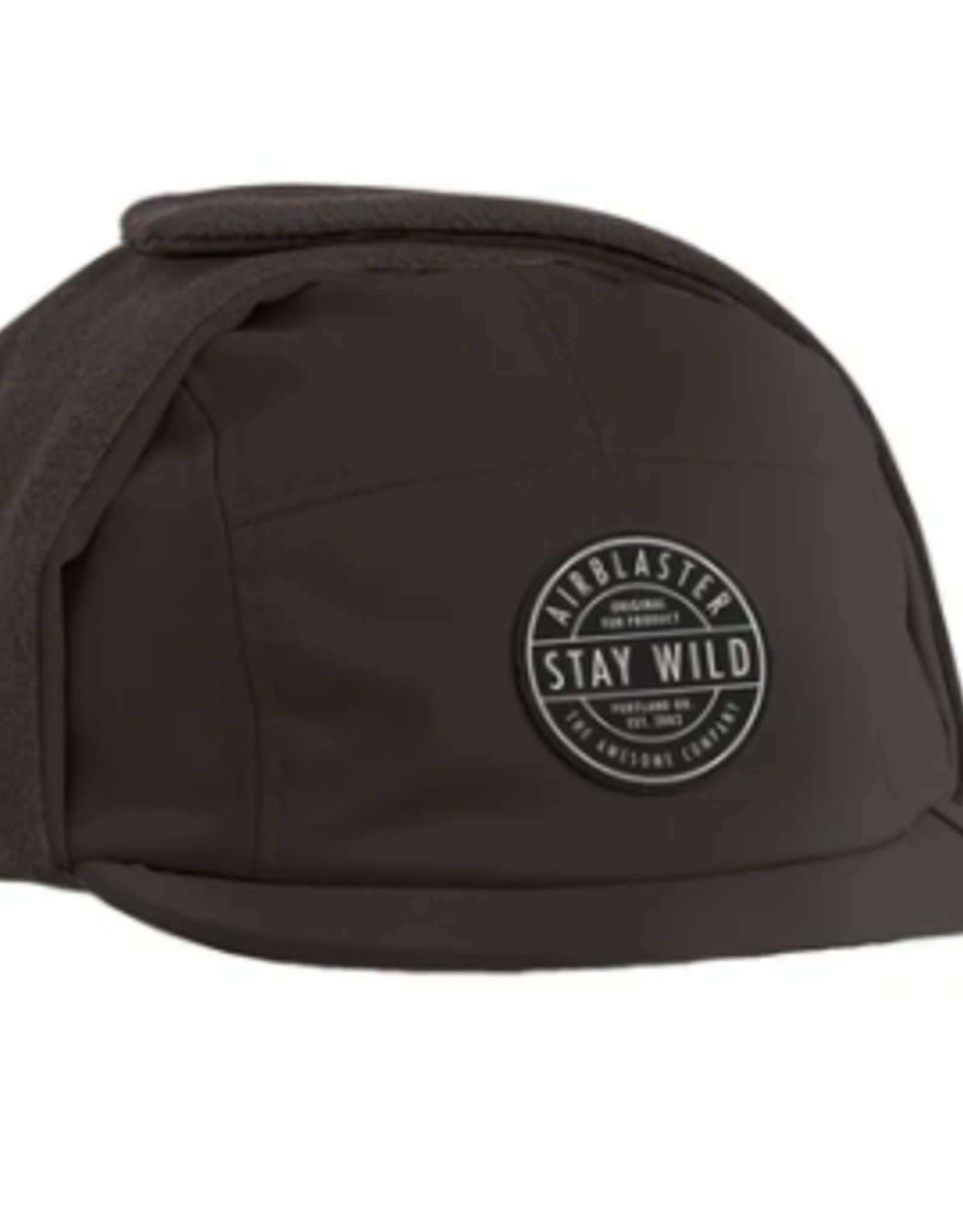 Airblaster Air Flap Cap Hat BLK