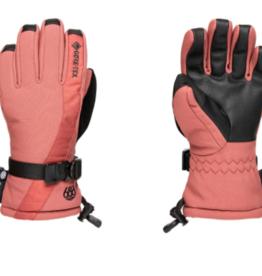 686 Women's Gore-Tex Linear Gloves Desert Rose 2022