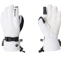 686 Women's Gore-Tex Linear Gloves White 2022