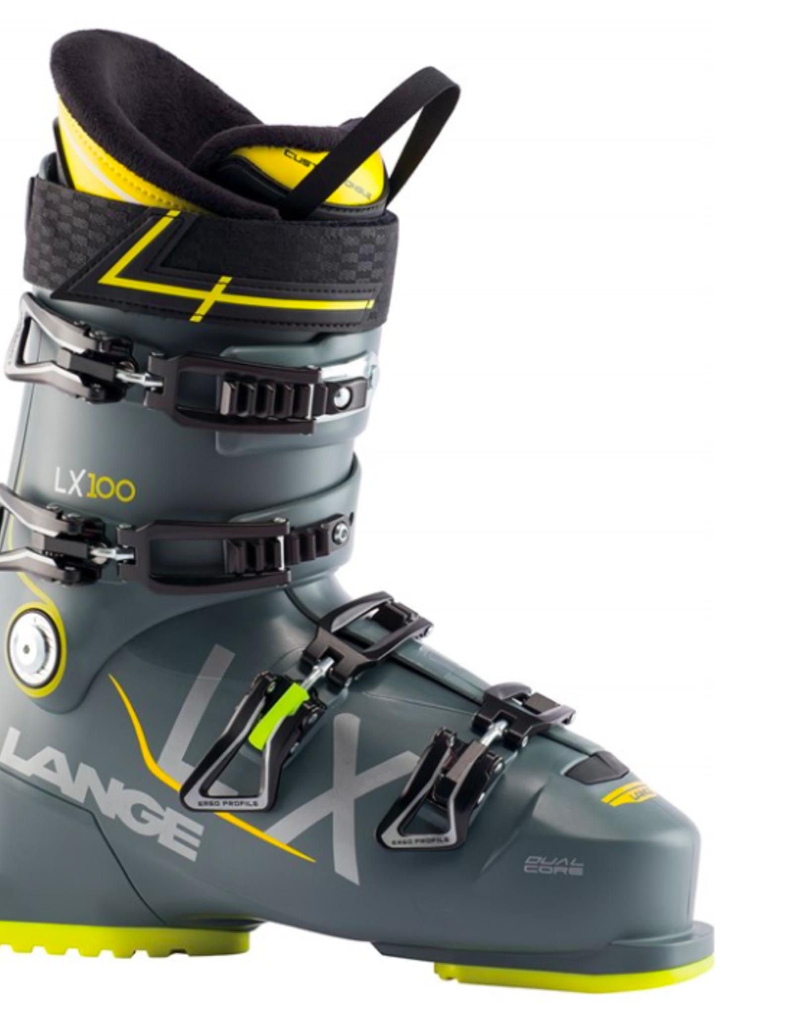 Lange Men's LX 100 Ski Boots Thunder Grey 2022