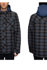 686 Men's Woodland Insulated Jacket Navy Plaid 2022
