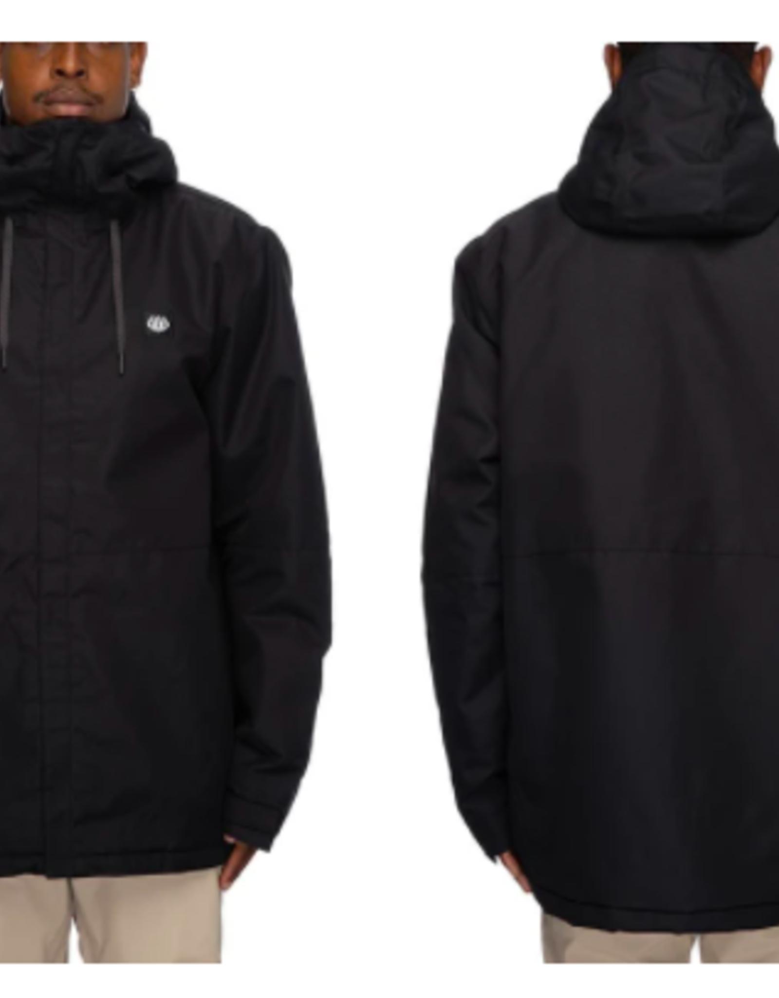 686 Men's Foundation Insulated Jacket Black 2022