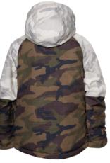 686 Boy's Hydra Insulated Jacket White Camo Colorblock 2022