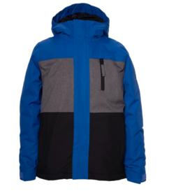 686 Boy's Smarty Insulated Jacket Primary Blue Colorblock 2022