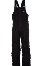 686 Boy's Frontier Insulated Bib Pants Black 2022