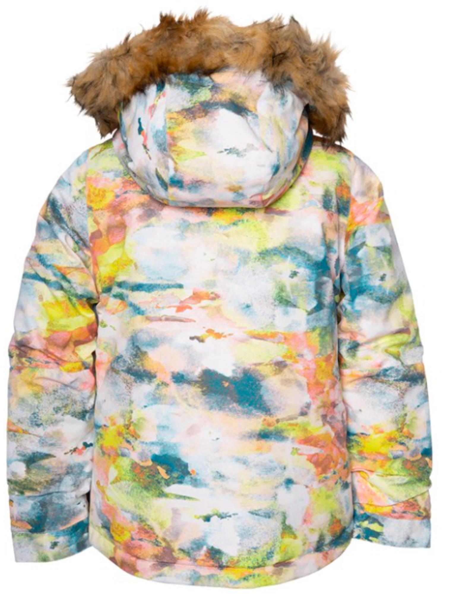 686 Girl's Ceremony Insulated Jacket Watercolor 2022