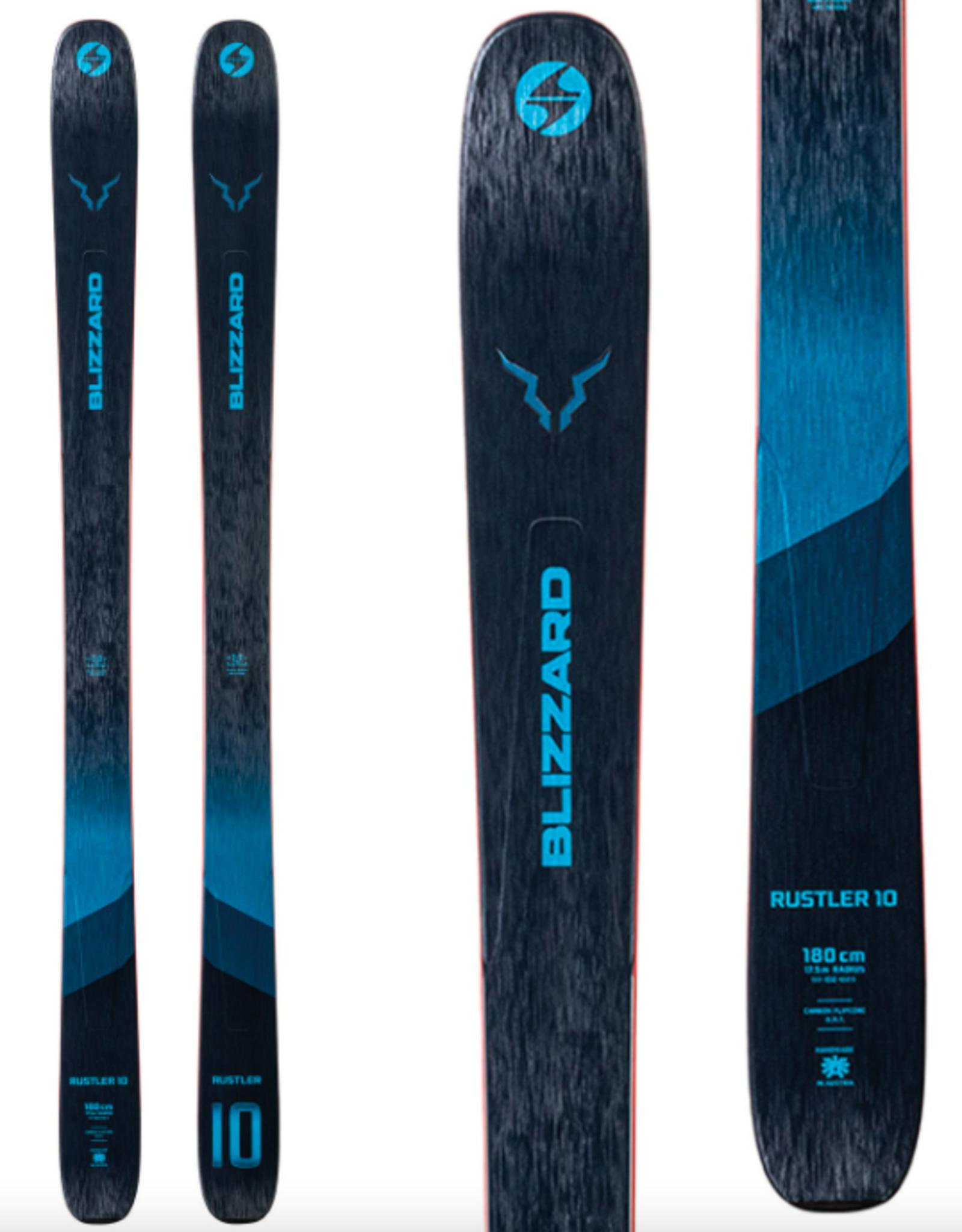 Blizzard Men's Rustler 10 Flat Skis 2022