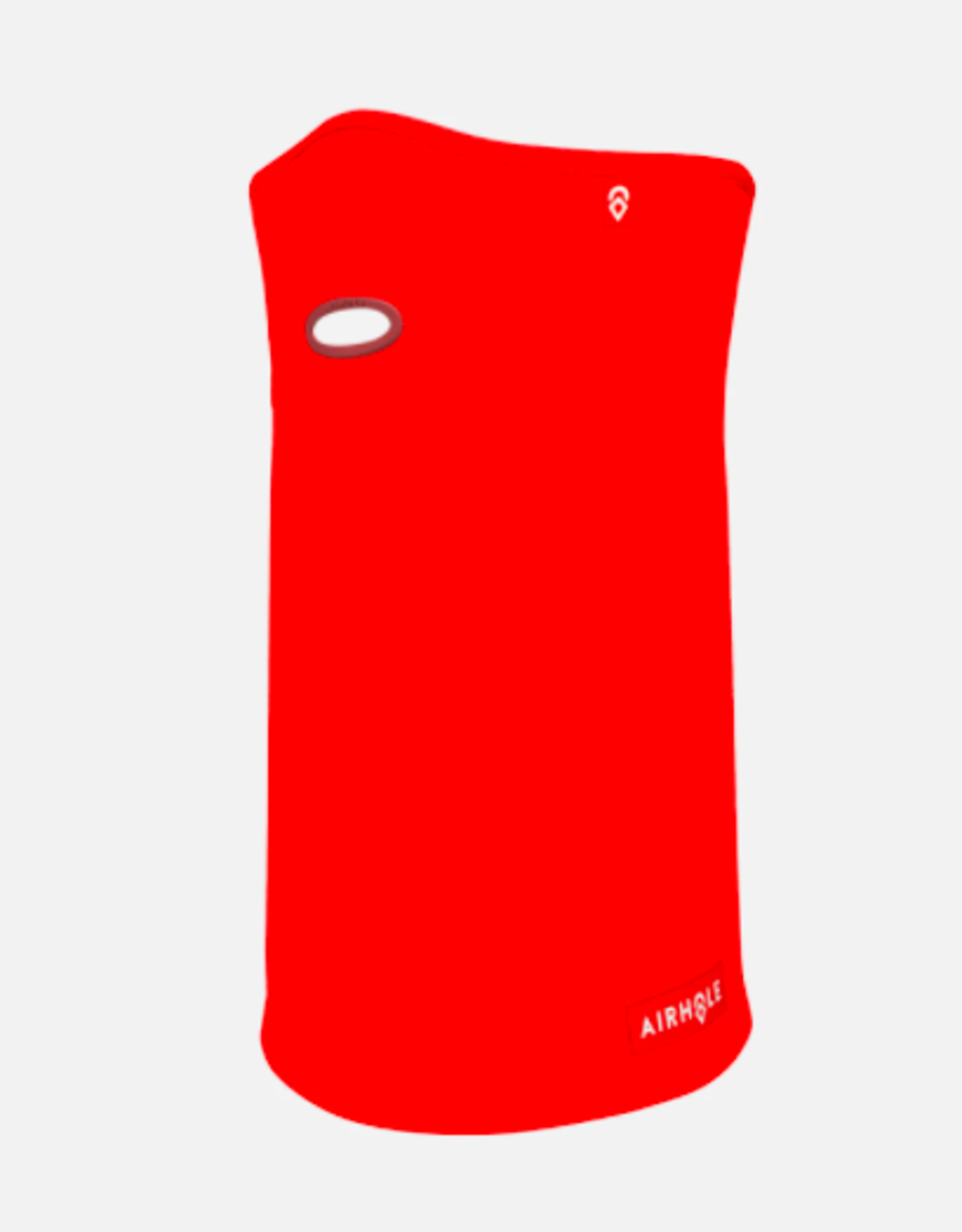 Airhole Airtube Ergo Junior Polar Face Mask Neon Red 2022