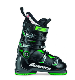 Nordica Men's Speedmachine 90 Ski Boots Black/Anthracite/Green 2022