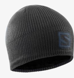 Salomon Logo Beanie Black