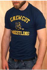 ajaxx63 ajaxx63 Crew Cut Wrestling Tee