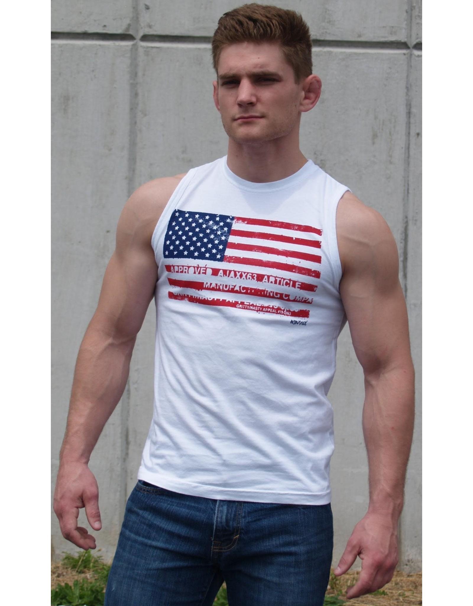 ajaxx63 ajaxx63  American Flag Sleeveless