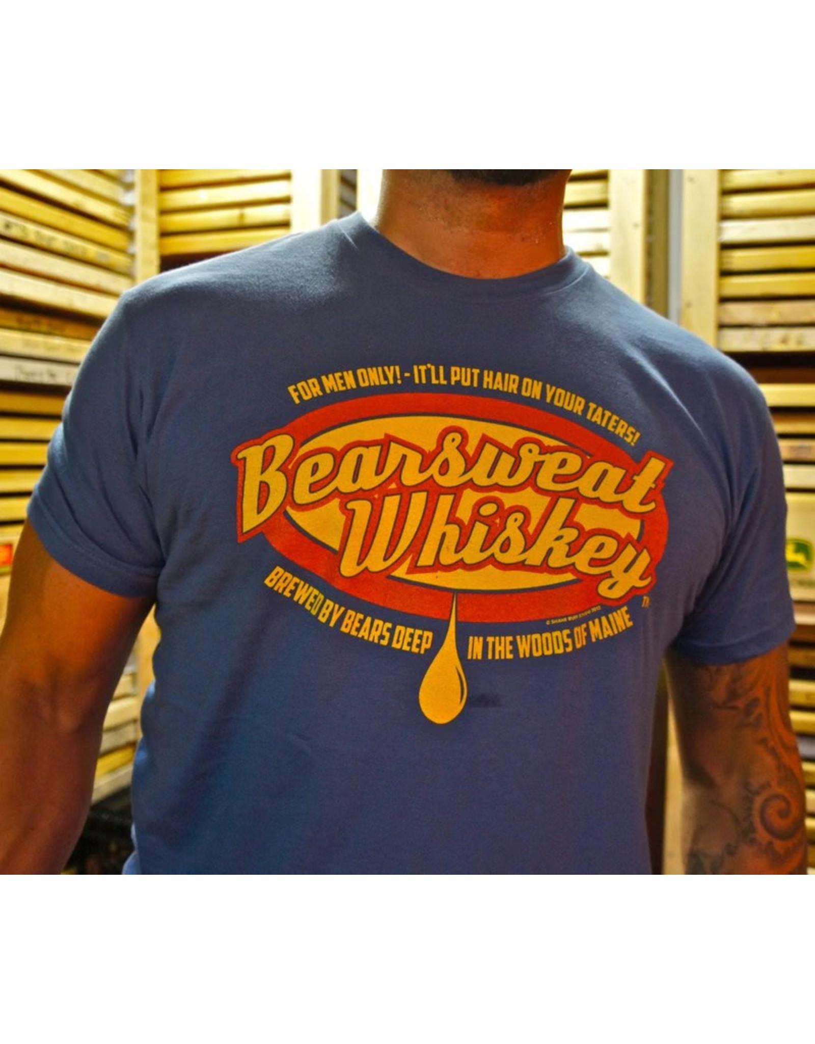 Shane Ruff Studio Burly Shirts Bearsweat Whiskey Tee