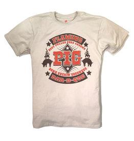 Shane Ruff Studio Burly Shirts Flaming Pig BBQ Tee