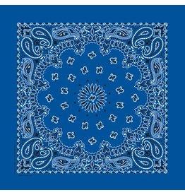 The Bandanna Co. Bandanna Co. Paisley Royal Blue 22'' X 22''