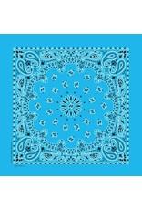 The Bandanna Co. Bandanna Co. Paisley Light Blue 22'' X 22''