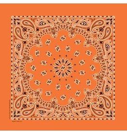 The Bandanna Co. Bandanna Co. Paisley Orange 22'' X 22''