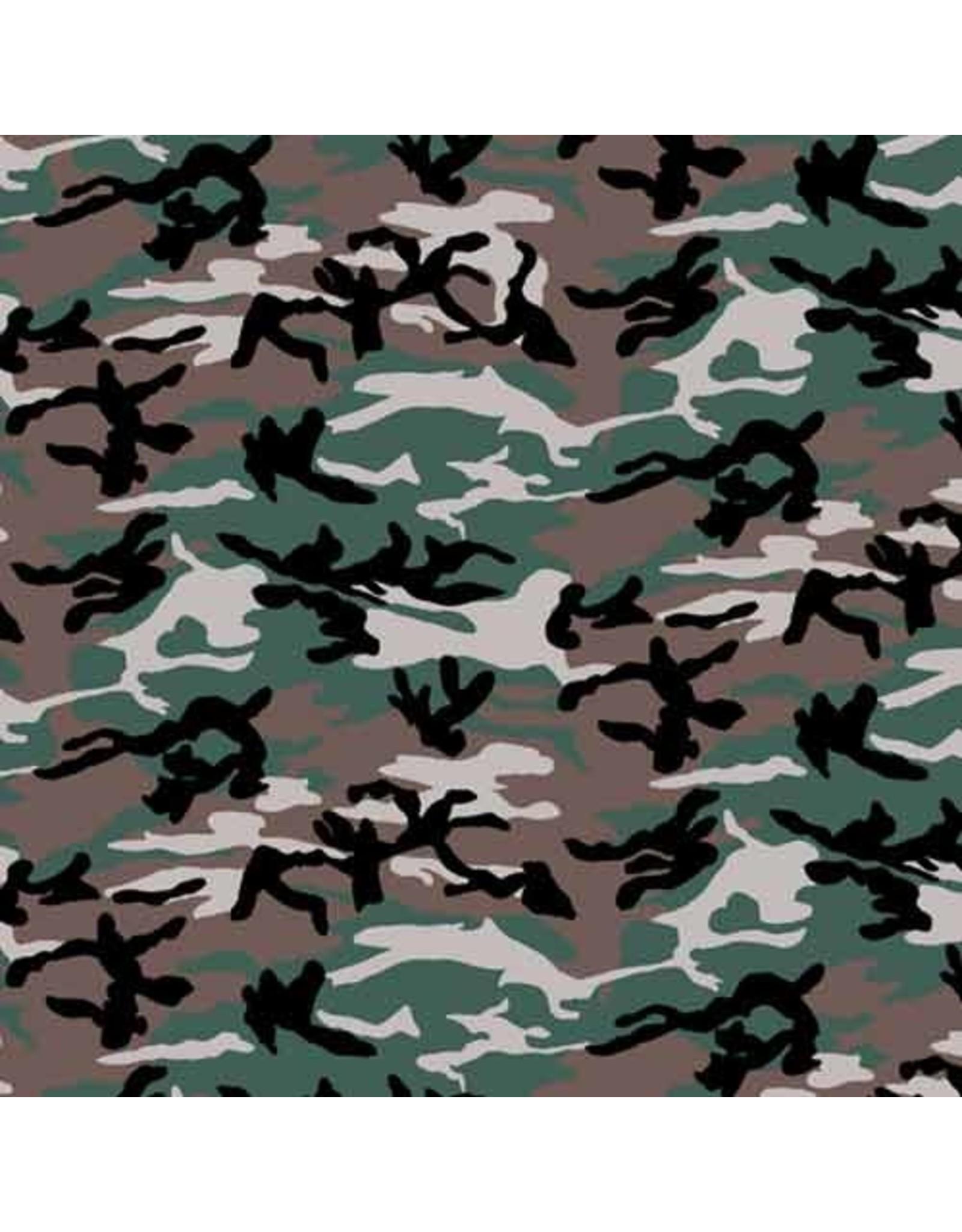 The Bandanna Co. Bandanna Co. Camouflage Woodland 22'' X 22''